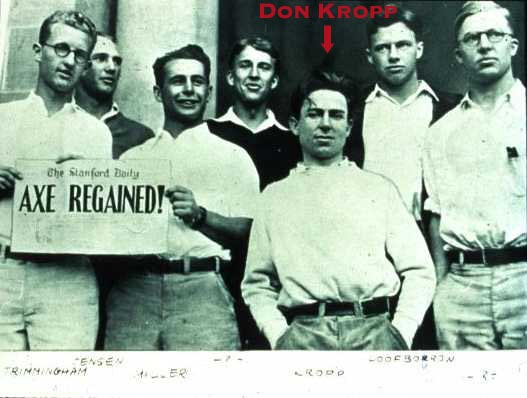 Don Kropp and the Stanford Axe Recovery Team